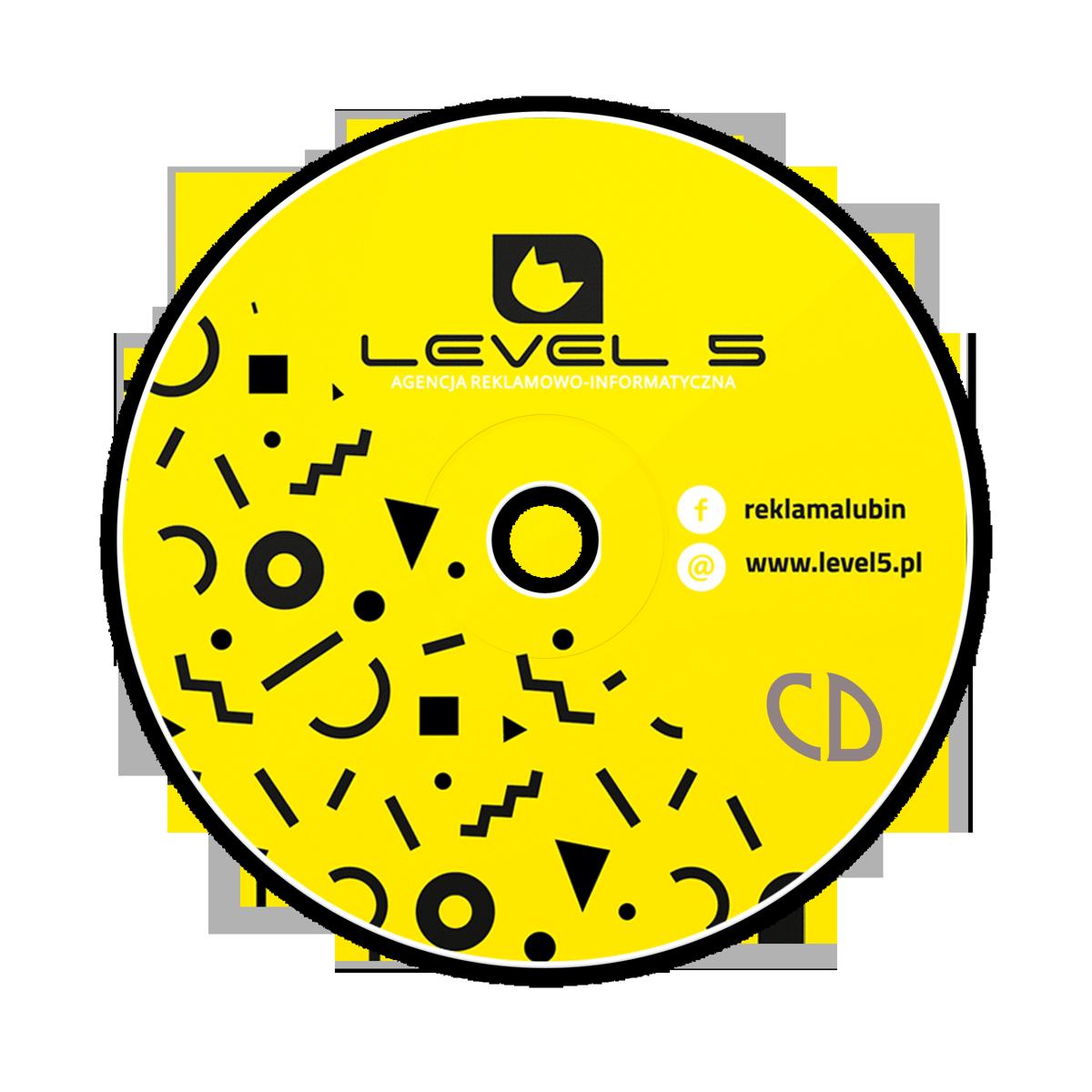 1 płyta CD z Twoim nadrukiem