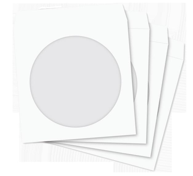 100 kopert CD/DVD z okienkiem